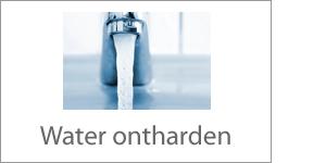 Water ontharden