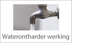 Waterontharder Werking