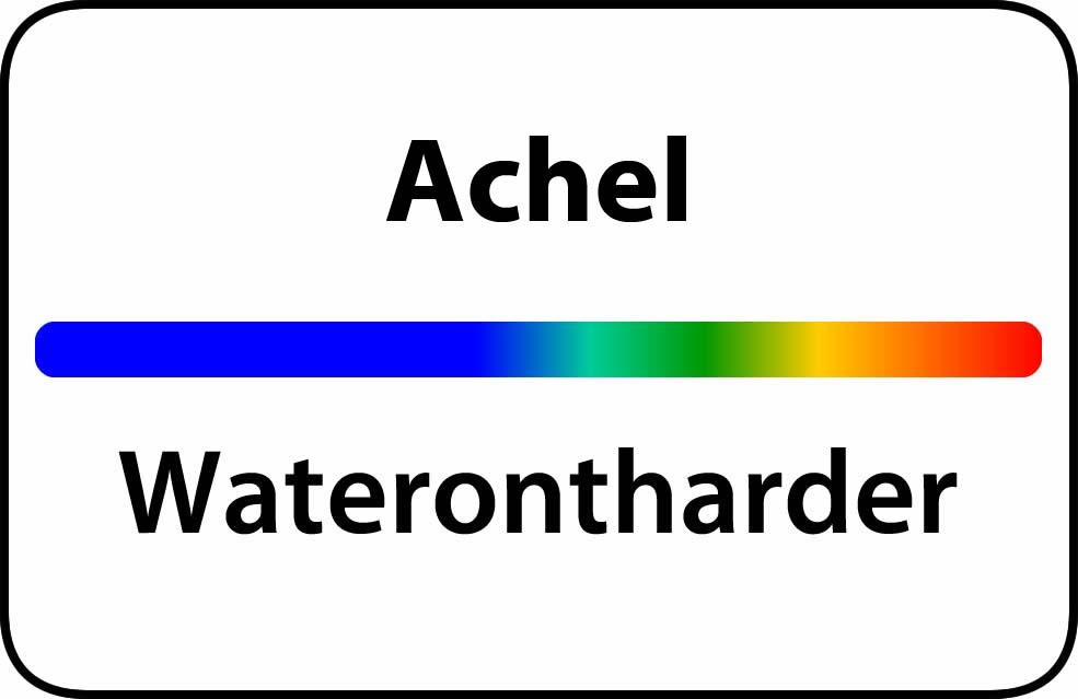 Waterontharder Achel