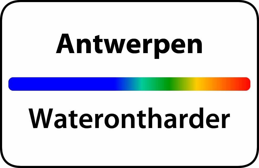 Waterontharder Antwerpen prijs