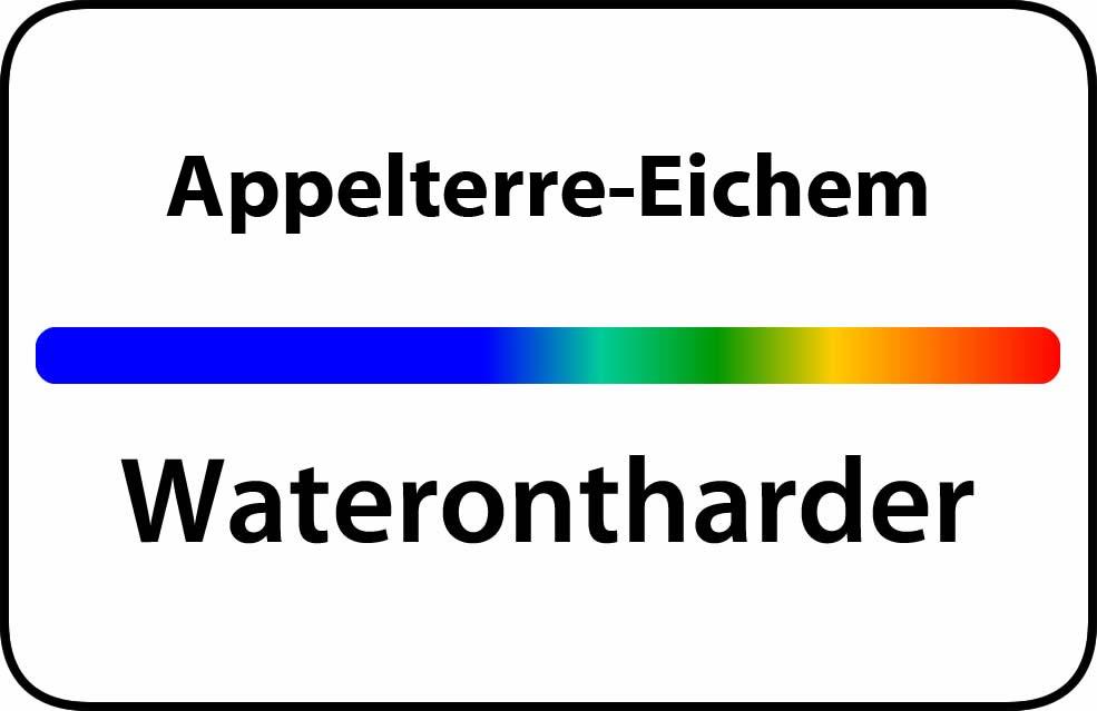 Waterontharder Appelterre-Eichem