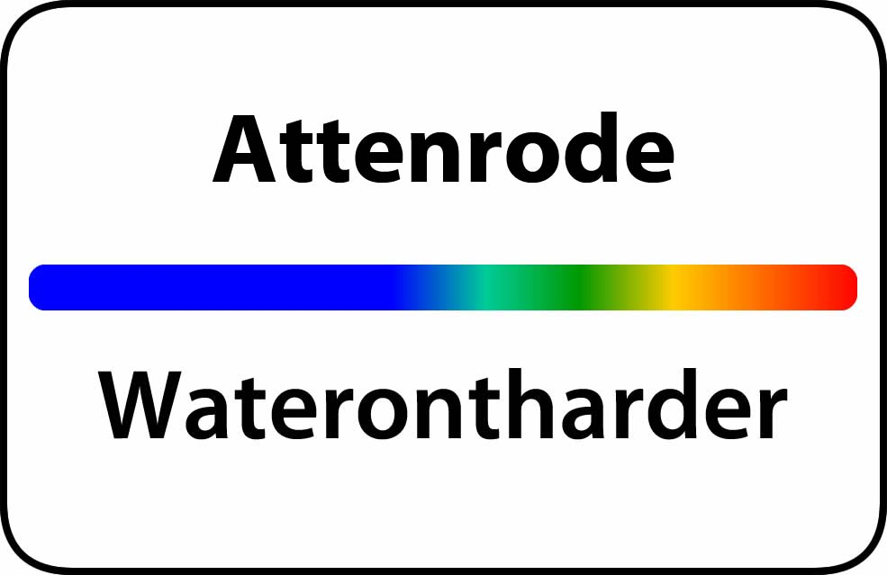 Waterontharder Attenrode
