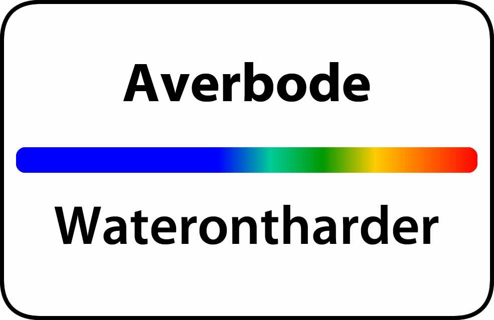 Waterontharder Averbode