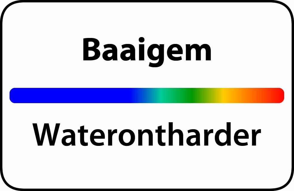 Waterontharder Baaigem