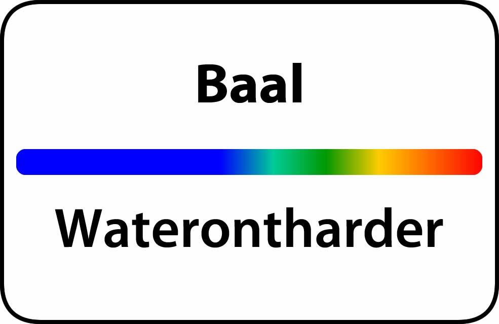 Waterontharder Baal