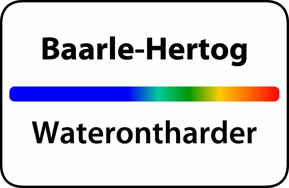 Waterontharder Baarle-Hertog