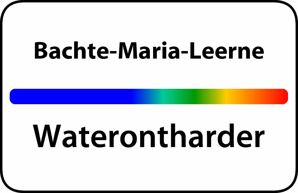 Waterontharder Bachte-Maria-Leerne