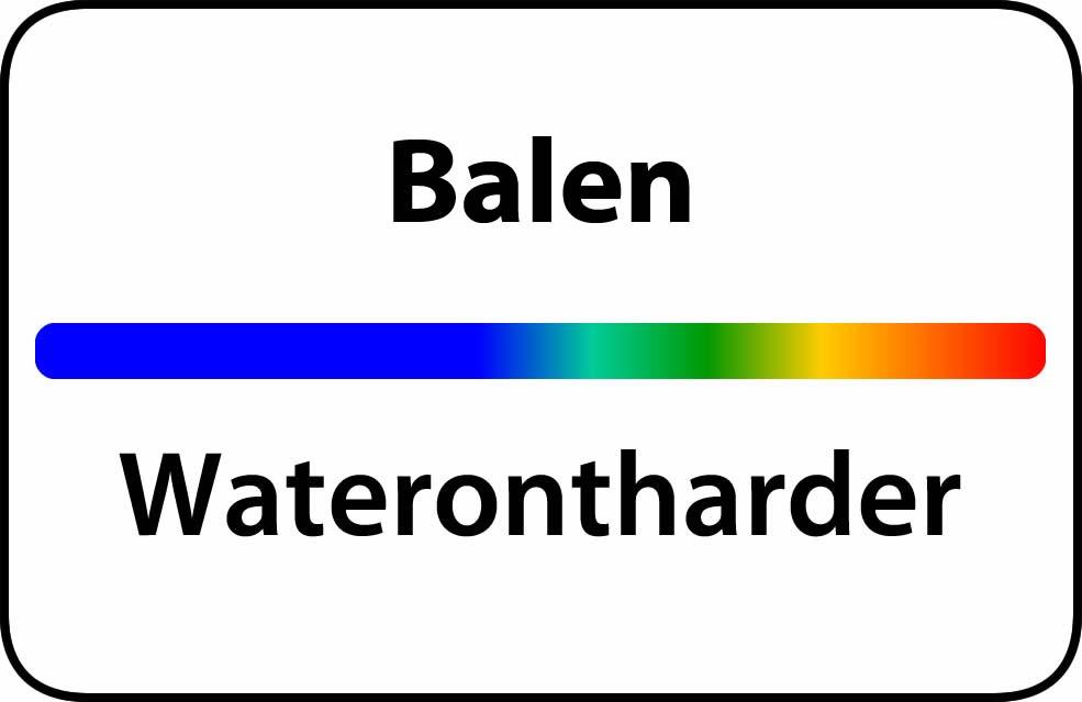 Waterontharder Balen