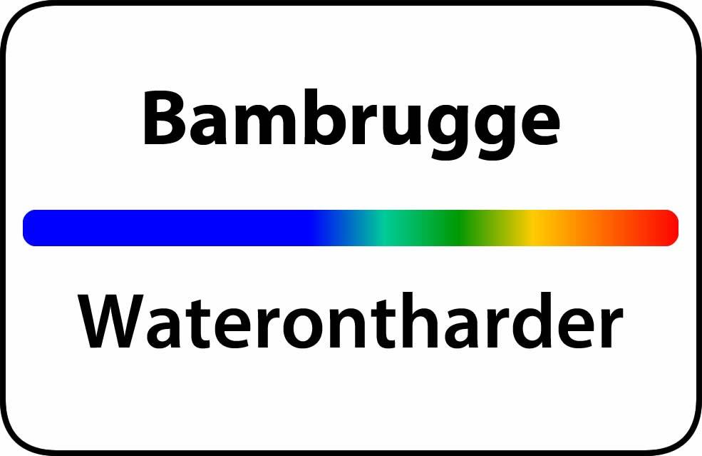 Waterontharder Bambrugge