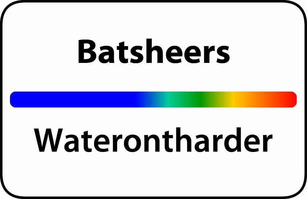 Waterontharder Batsheers