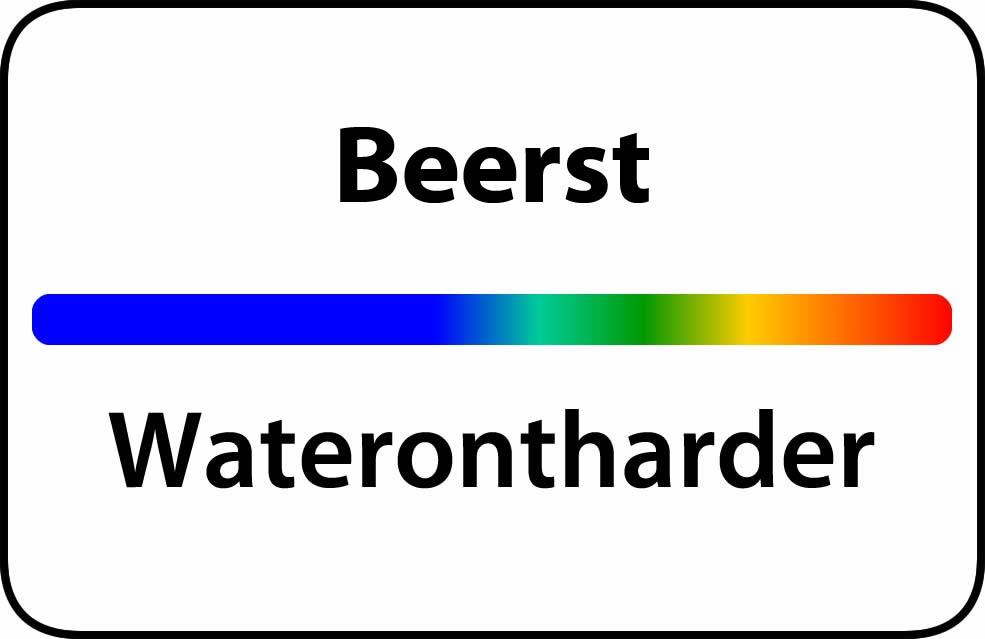 Waterontharder Beerst