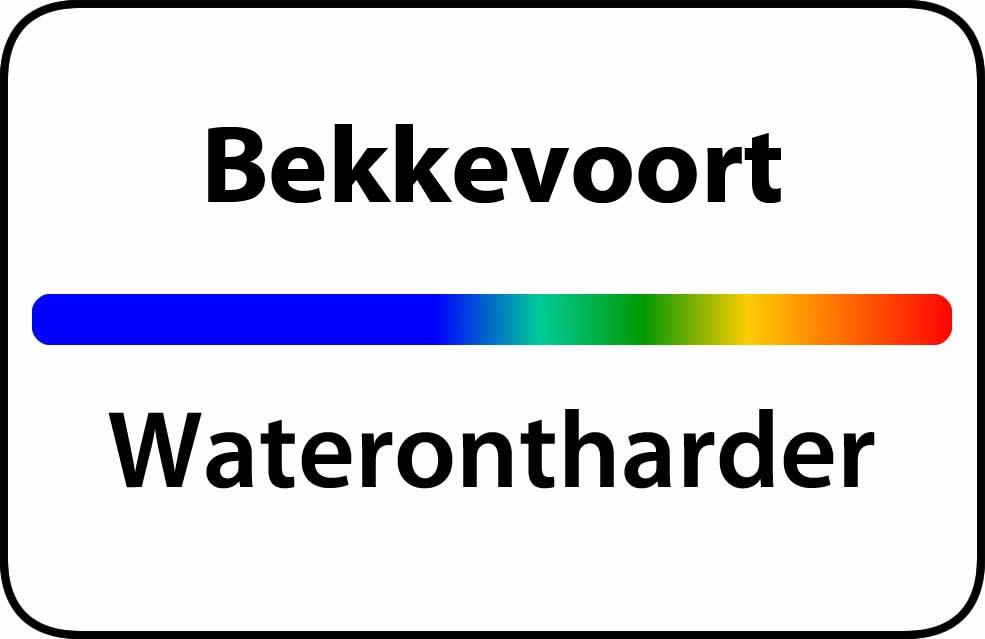 Waterontharder Bekkevoort