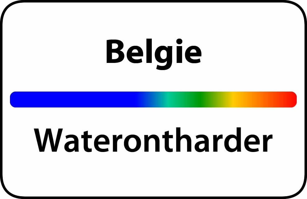 Waterontharder België
