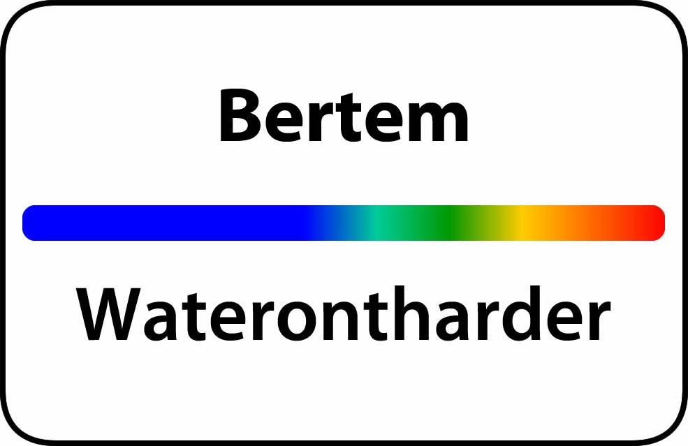 Waterontharder Bertem