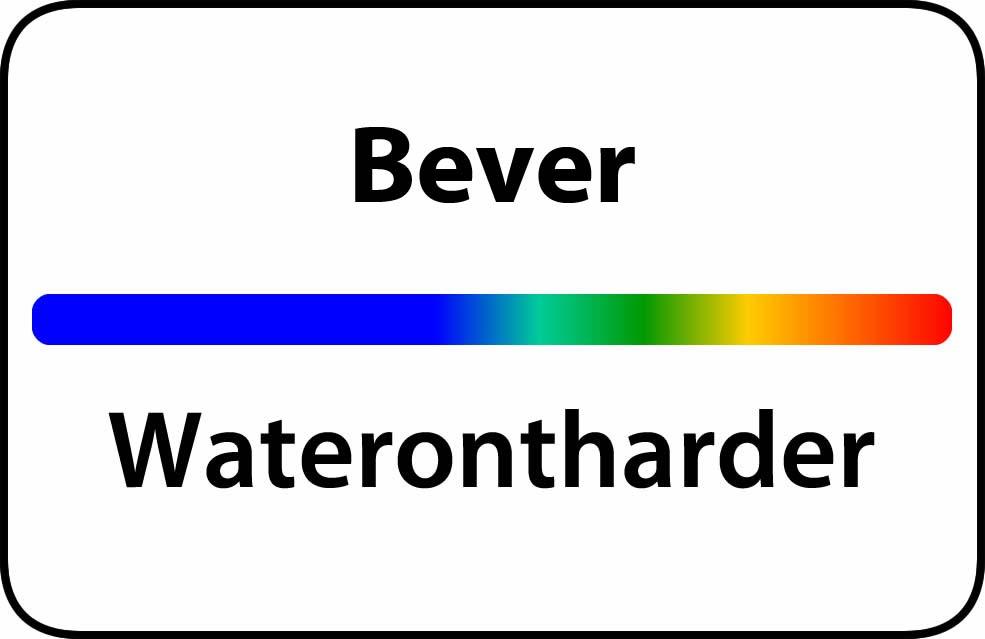Waterontharder Bever