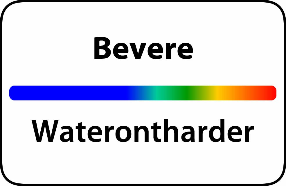 Waterontharder Bevere
