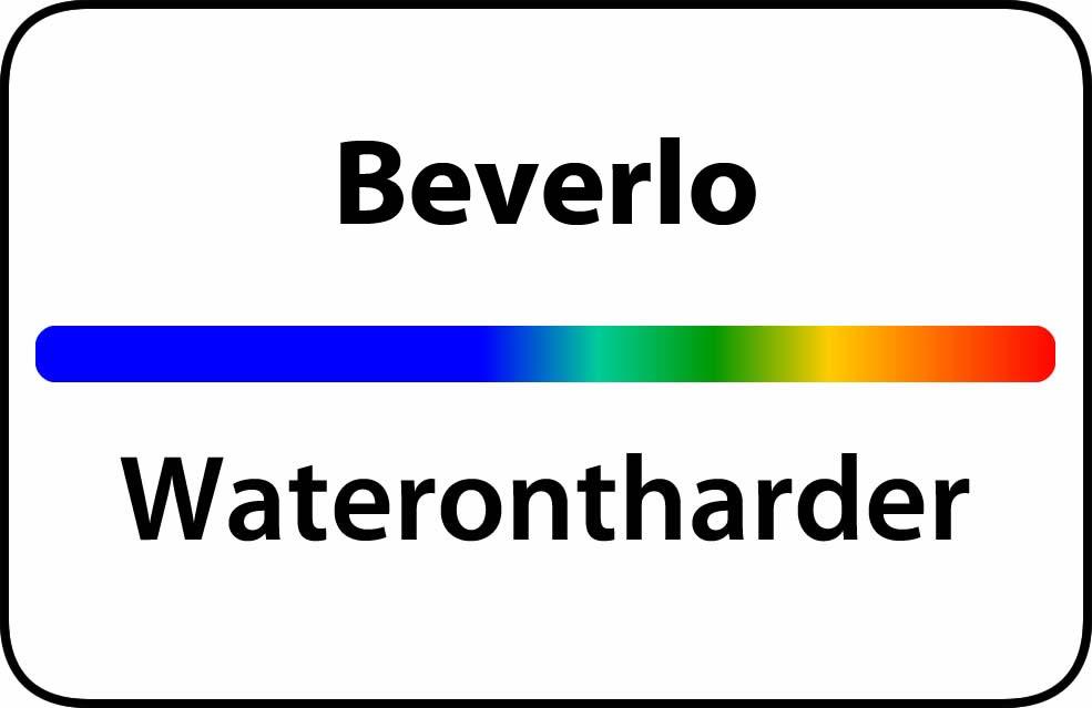 Waterontharder Beverlo