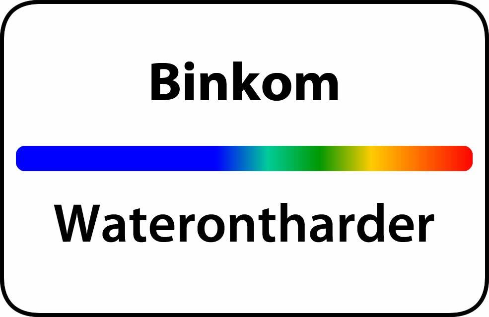 Waterontharder Binkom