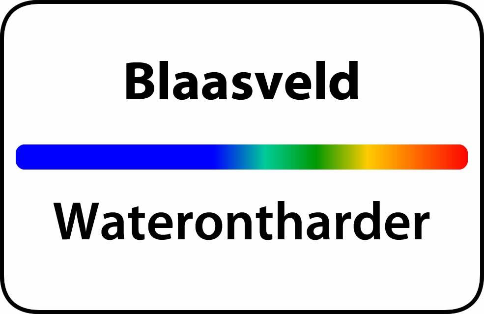 Waterontharder Blaasveld