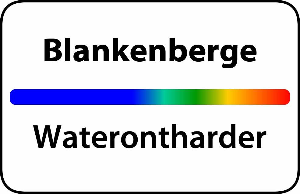 Waterontharder Blankenberge