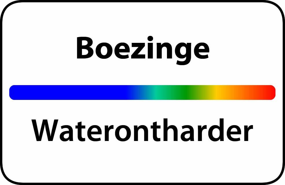 Waterontharder Boezinge