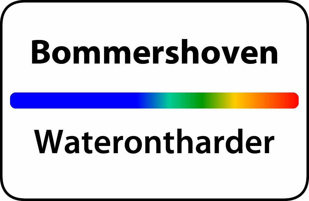 Waterontharder Bommershoven