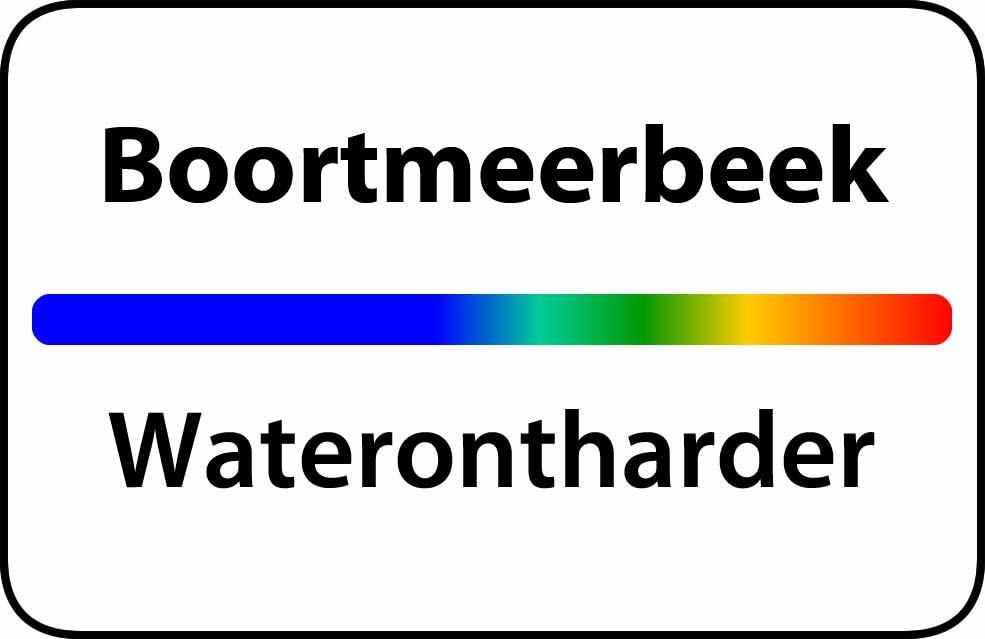 Waterontharder Boortmeerbeek