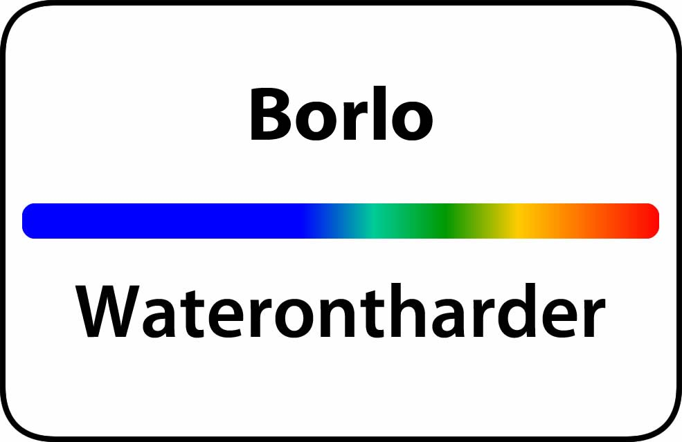 Waterontharder Borlo