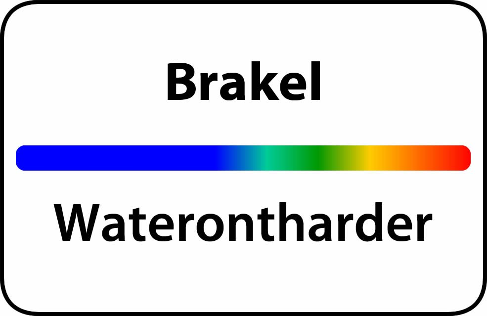 Waterontharder Brakel