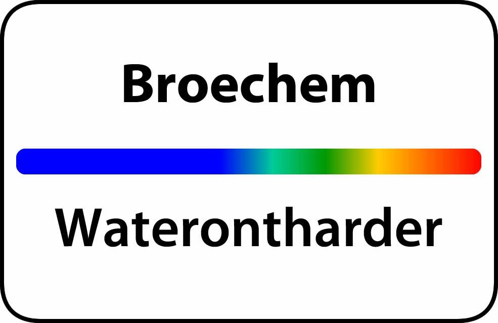 Waterontharder Broechem