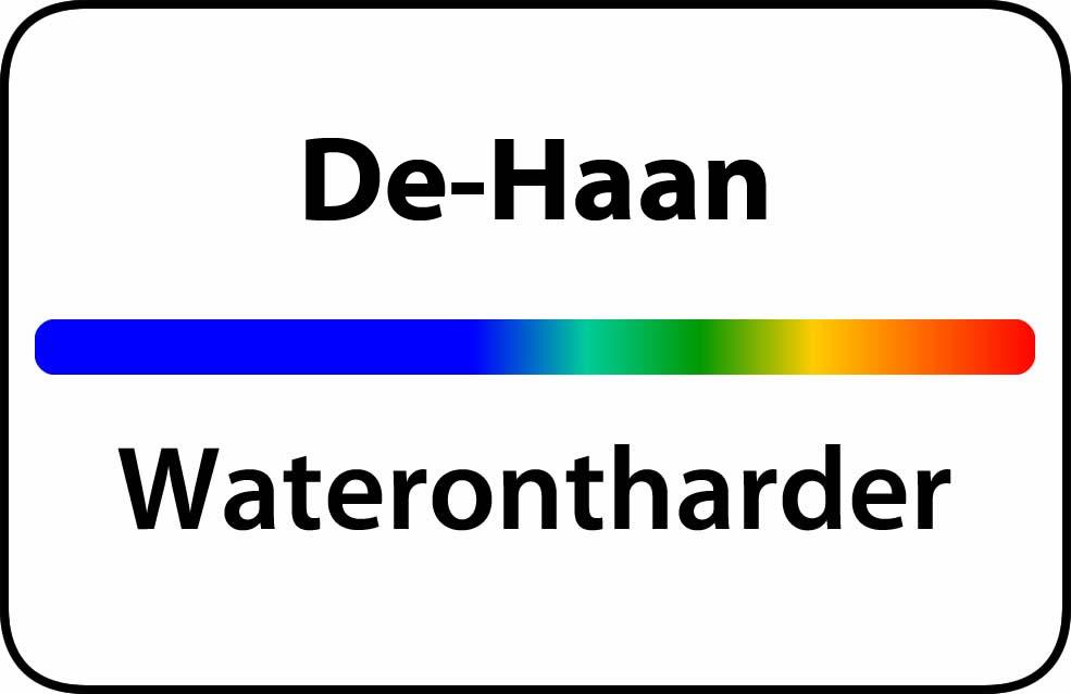 Waterontharder De Haan