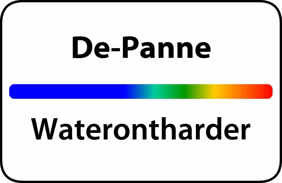 Waterontharder De Panne