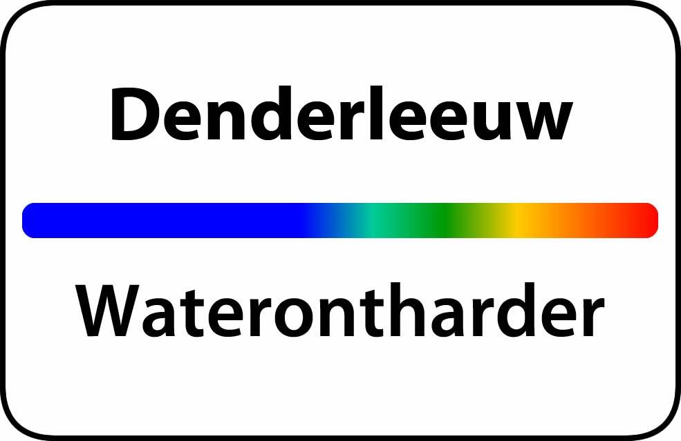Waterontharder Denderleeuw
