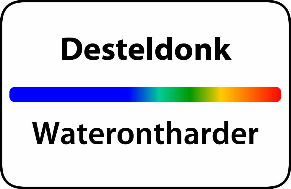 Waterontharder Desteldonk