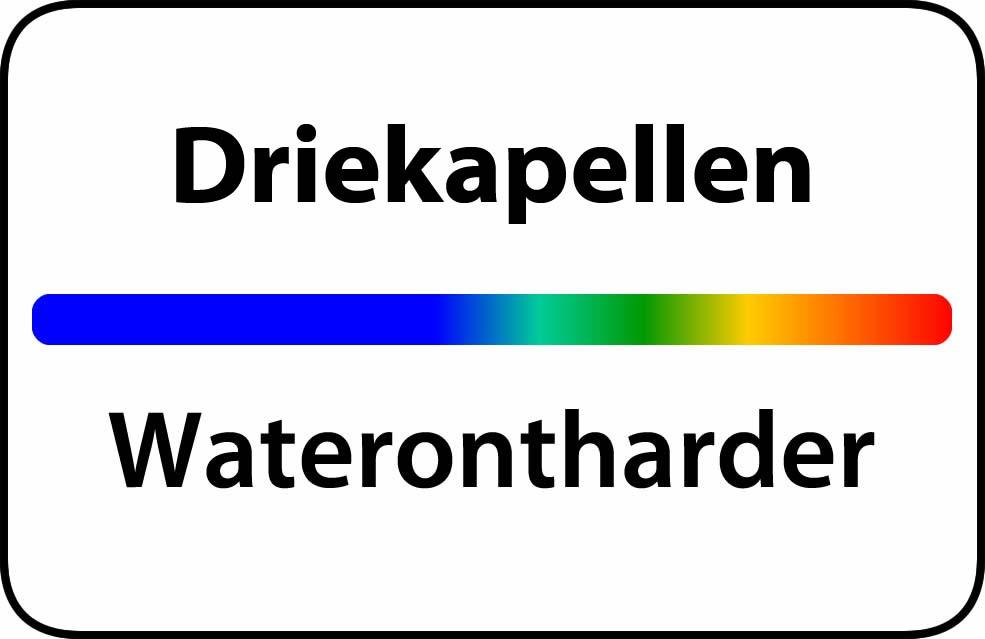 Waterontharder Driekapellen