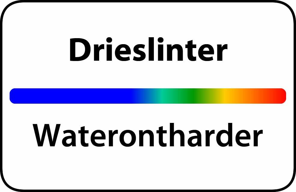 Waterontharder Drieslinter