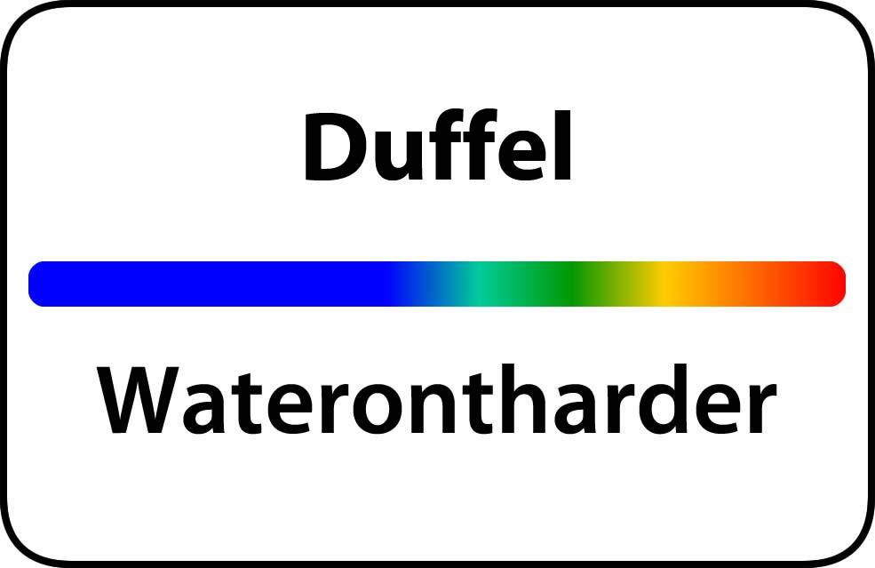 Waterontharder Duffel