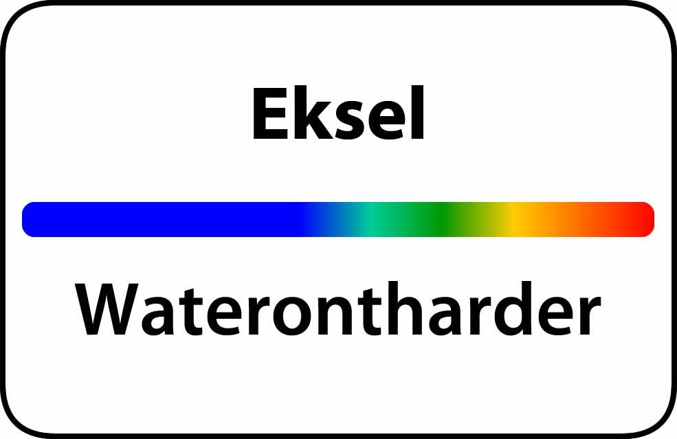Waterontharder Eksel