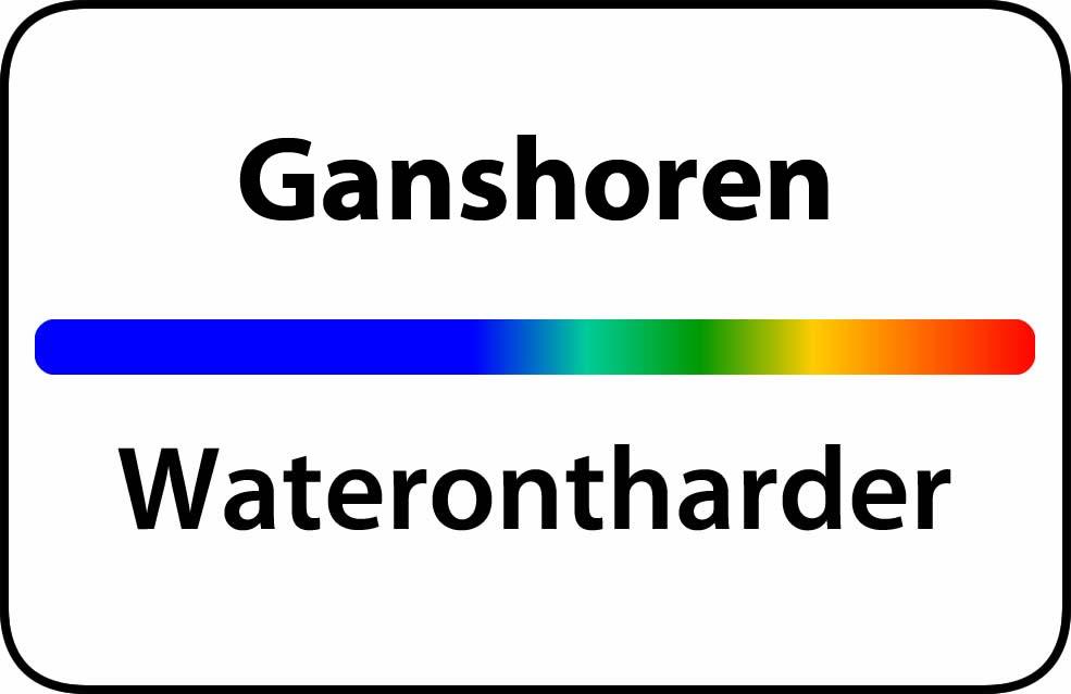 Waterontharder Ganshoren