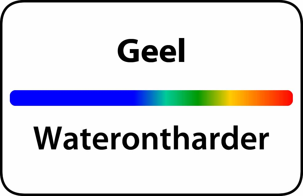 Waterontharder Geel