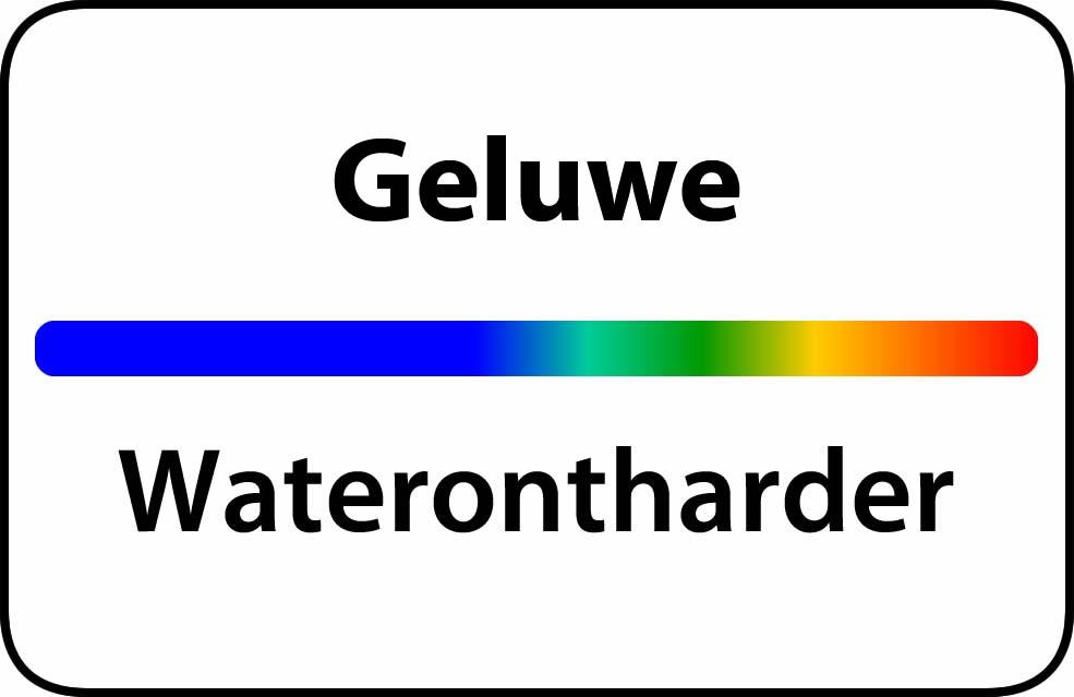 Waterontharder Geluwe