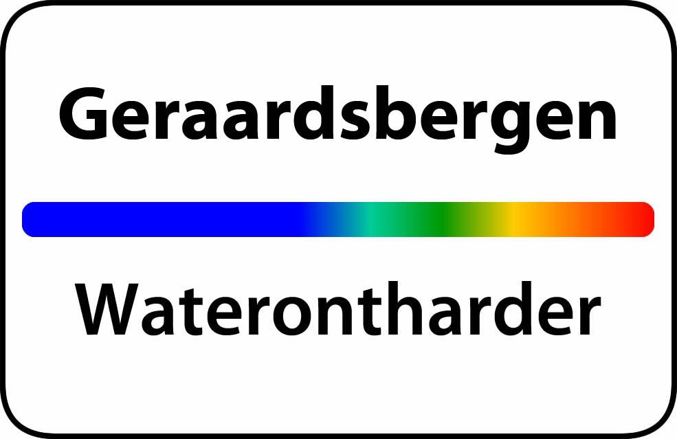Waterontharder Geraardsbergen
