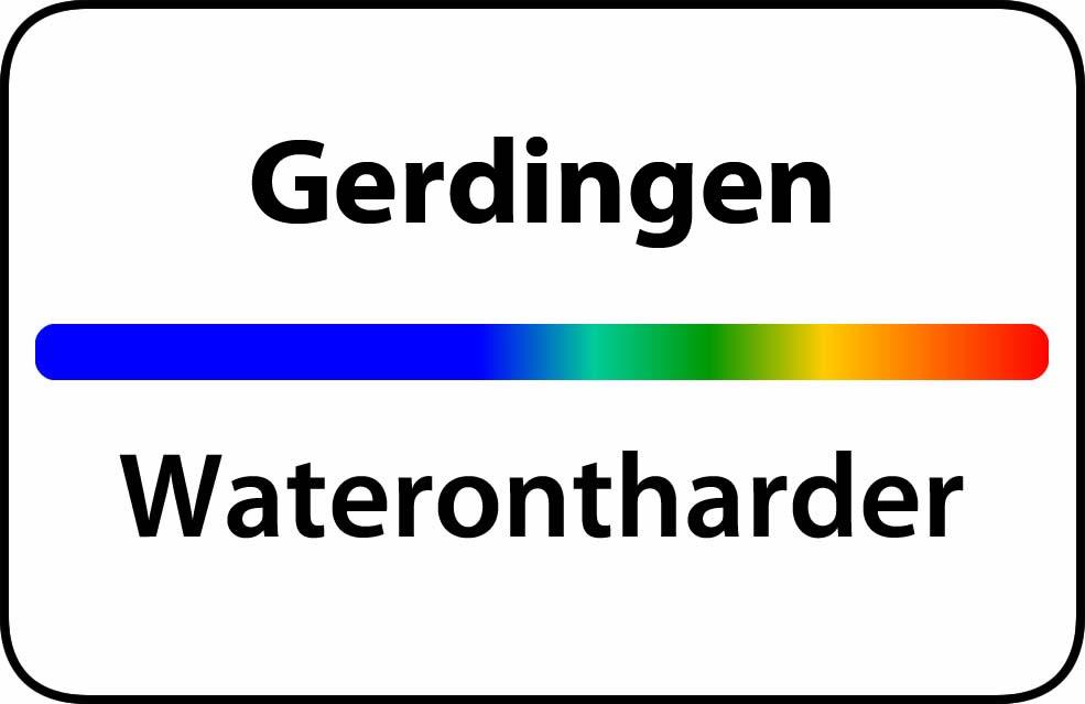 Waterontharder Gerdingen