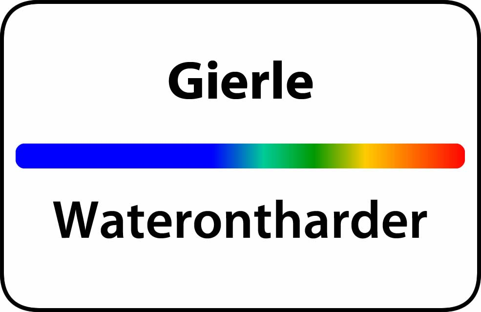 Waterontharder Gierle