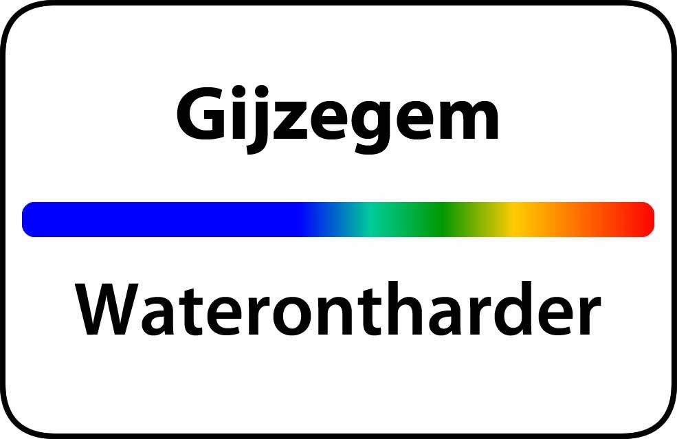 Waterontharder Gijzegem