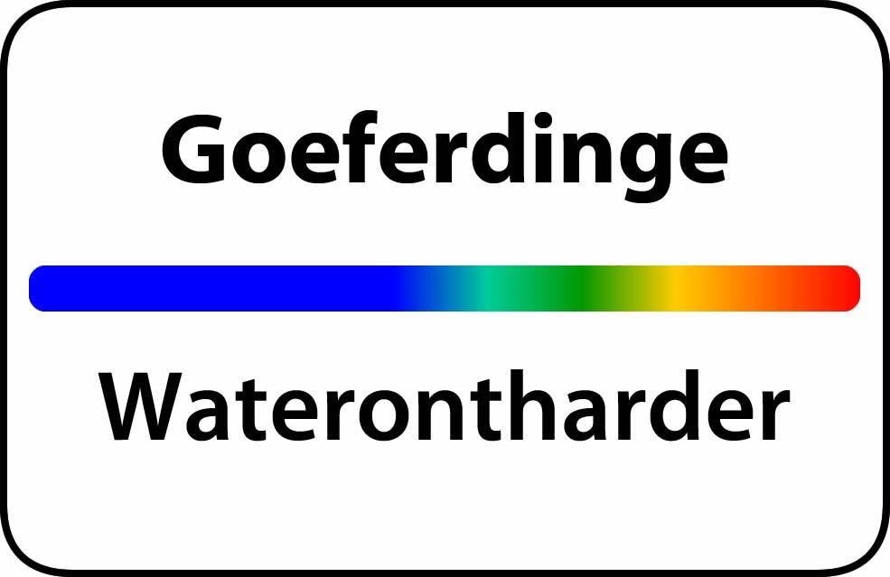 Waterontharder Goeferdinge