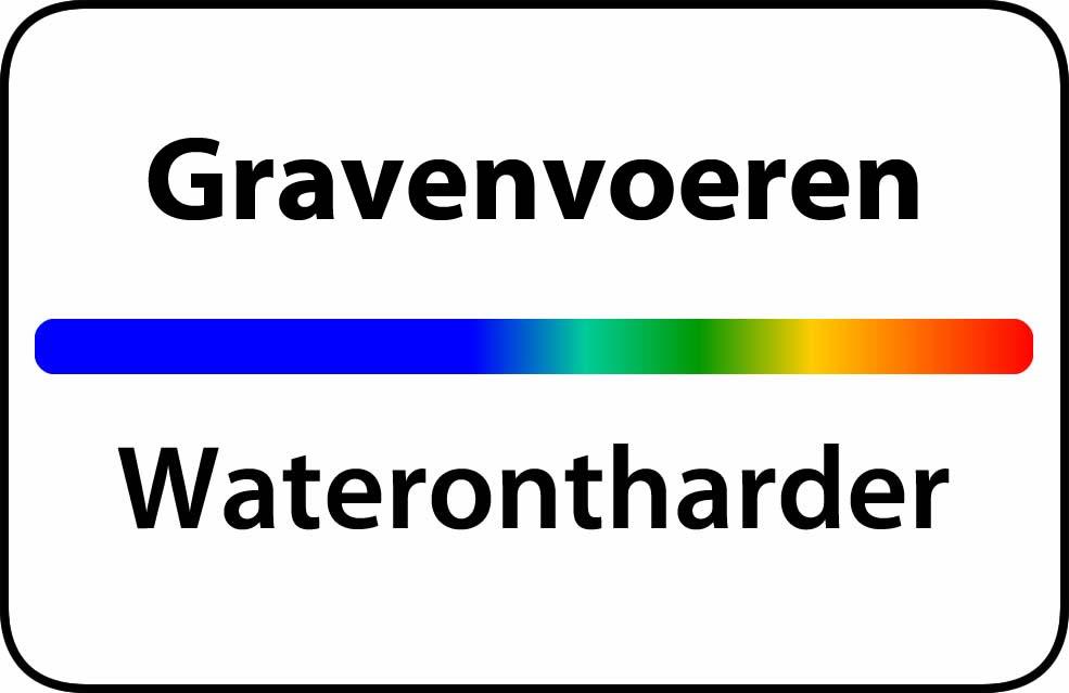 Waterontharder Gravenvoeren