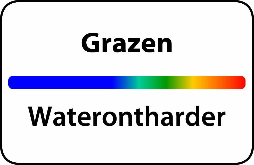 Waterontharder Grazen