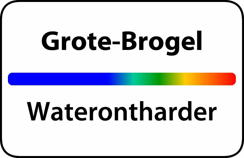 Waterontharder Grote-Brogel