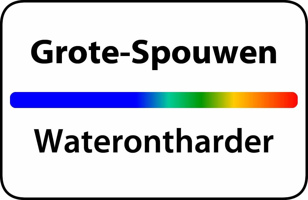 Waterontharder Grote-Spouwen